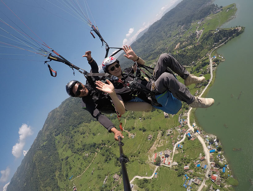 Multiple Activities, Paragliding in Pokhara