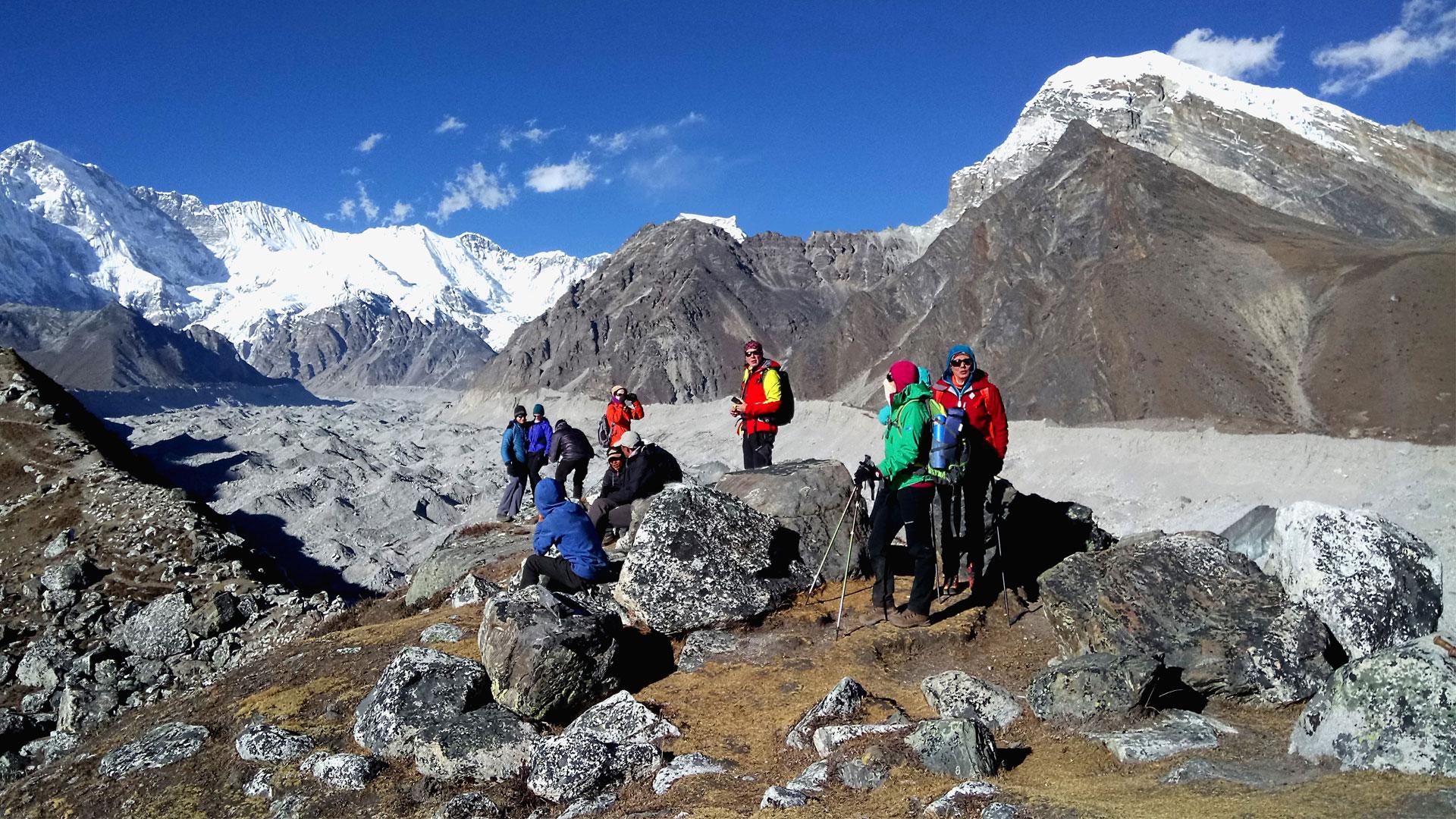 Trekking in the Himalayas