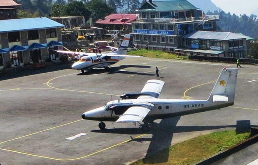 Fly to Lukla for Everest Trek