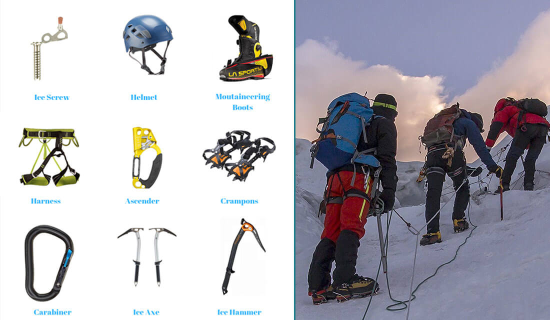 Gear-list-summit-Lobuche-peak