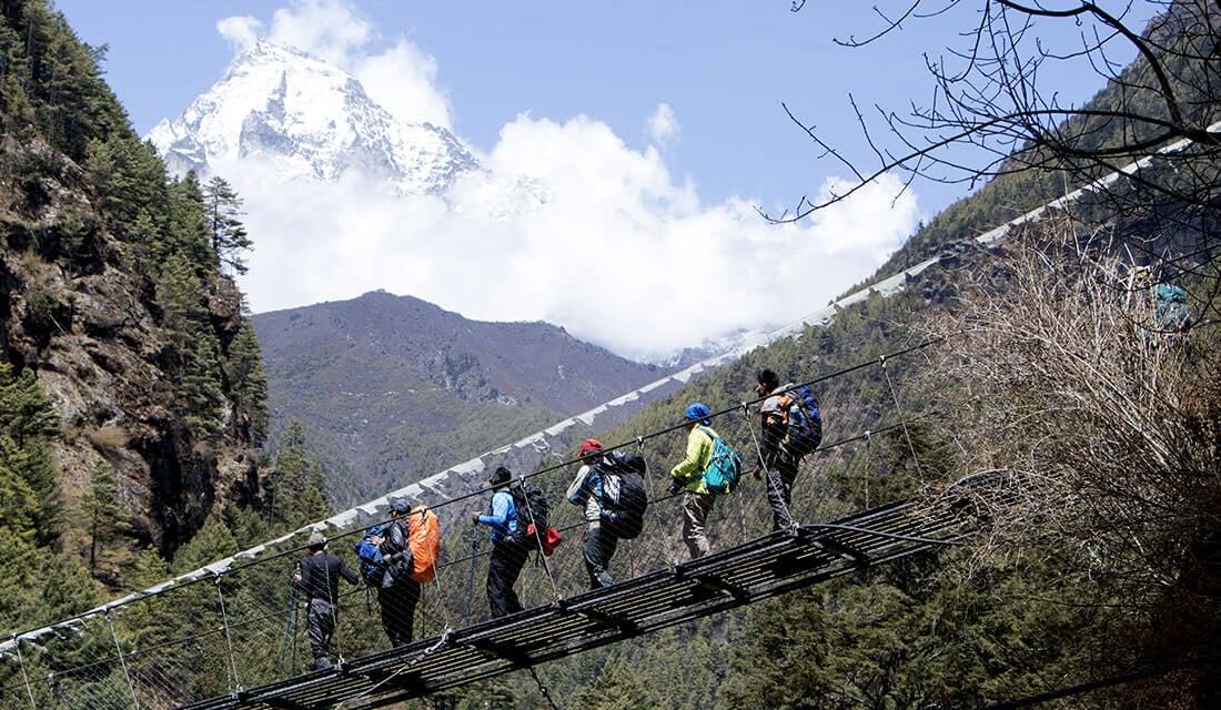 EBC Trek Route