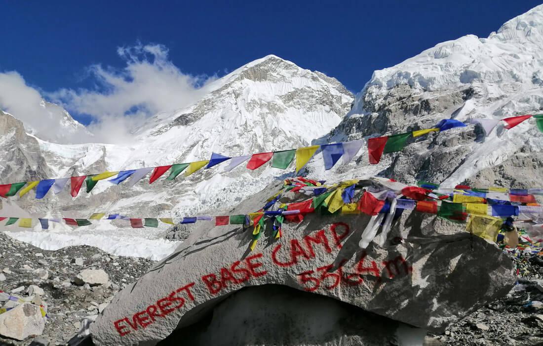 Everest Base Camp In April