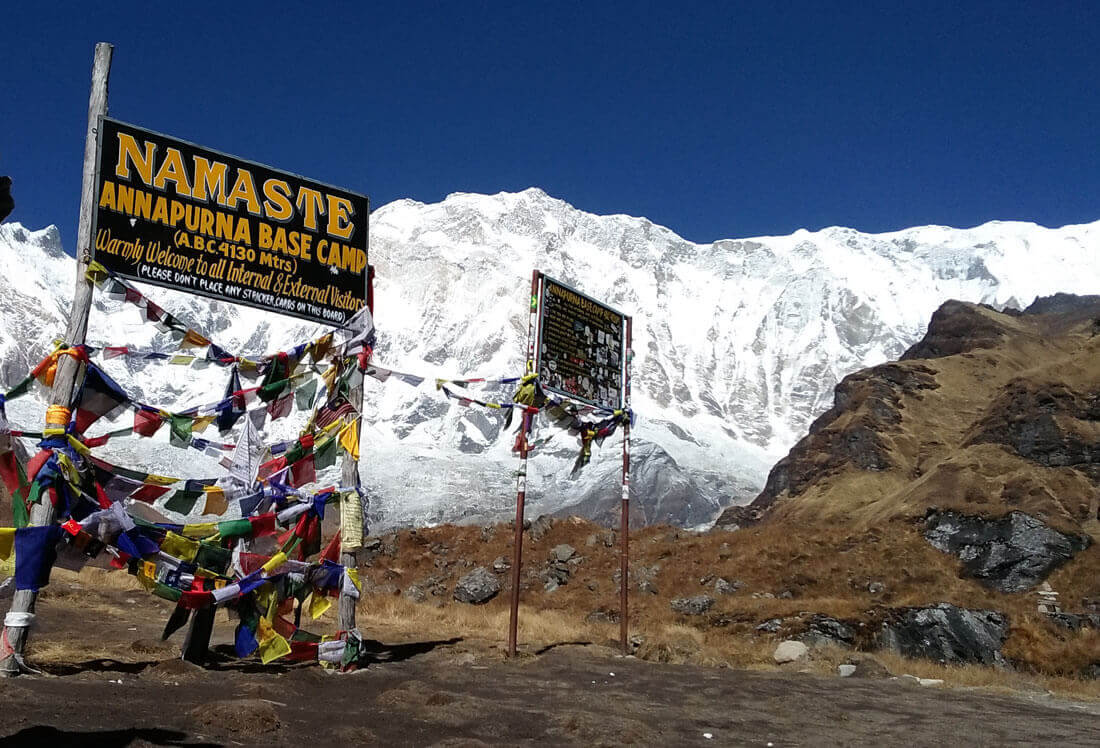 How to get annpurna base camp