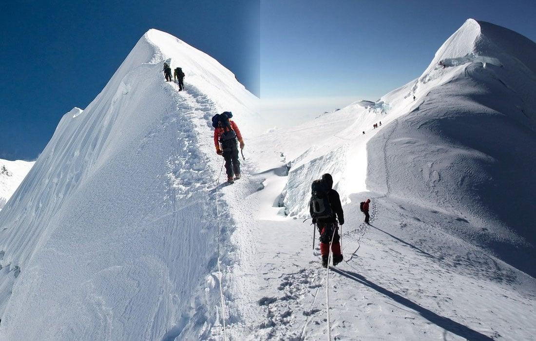 Mera Peak vs Island Peak