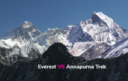 everest vs annapurna trek