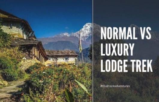normal-vs-luxury-lodged-trek