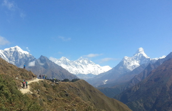 5 best treks in everest region
