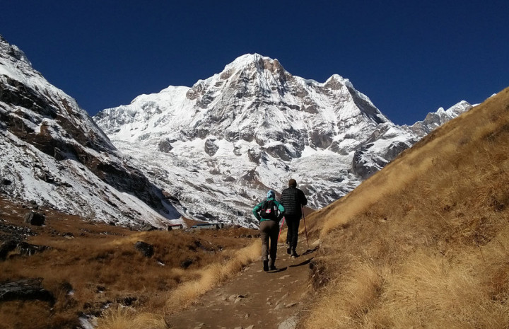 Trekking in Nepal With Family