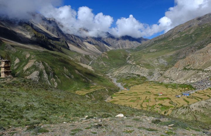 Nar Pho Valley in the Manang district of Nepal