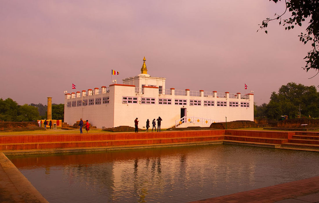 lumbing birth place of gautam buddha
