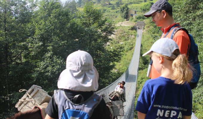 Family Activities -Trekking With Children