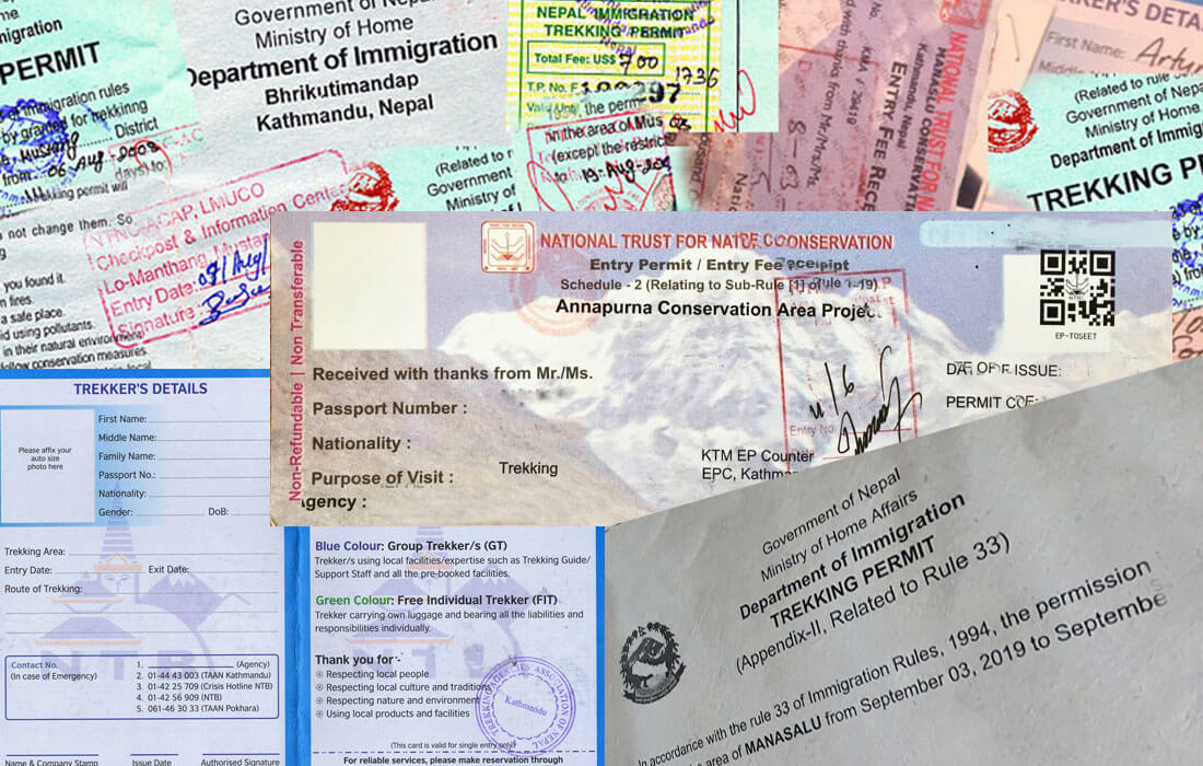 TIMS Card And Trekking Permits In Nepal