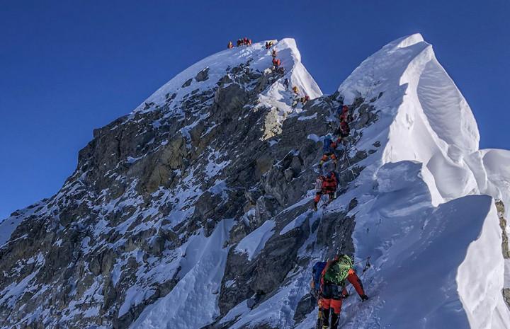 Everest Summit 2021