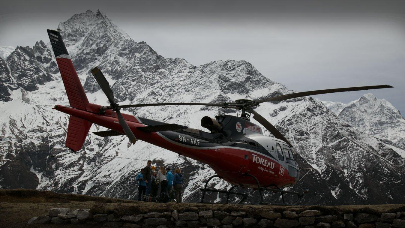 Everest Base Camp Gokyo Lakes Helicopter Trek