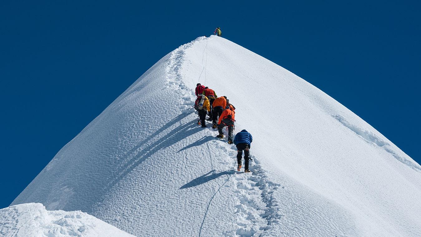 Island Peak Climbing with EBC Trek