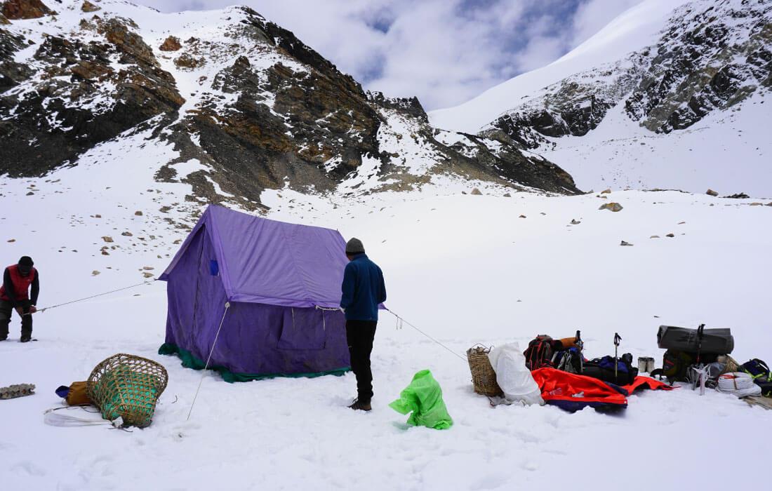 Chulu Far East High Camp