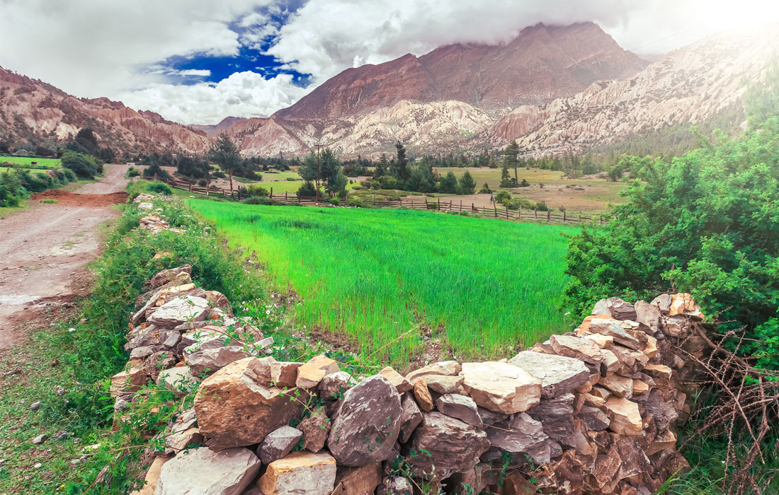 Valley Near Pisang