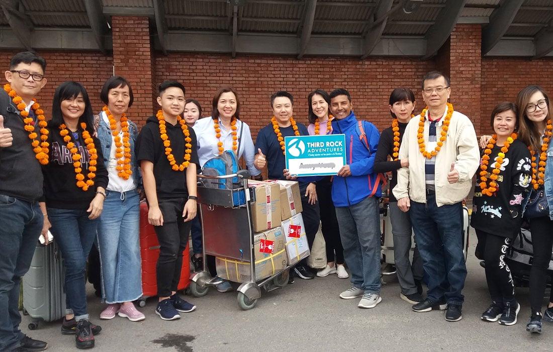 Kathmandu Arrival  and Welcome