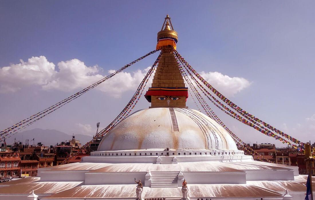 Boudhanath Kathmand, nepal