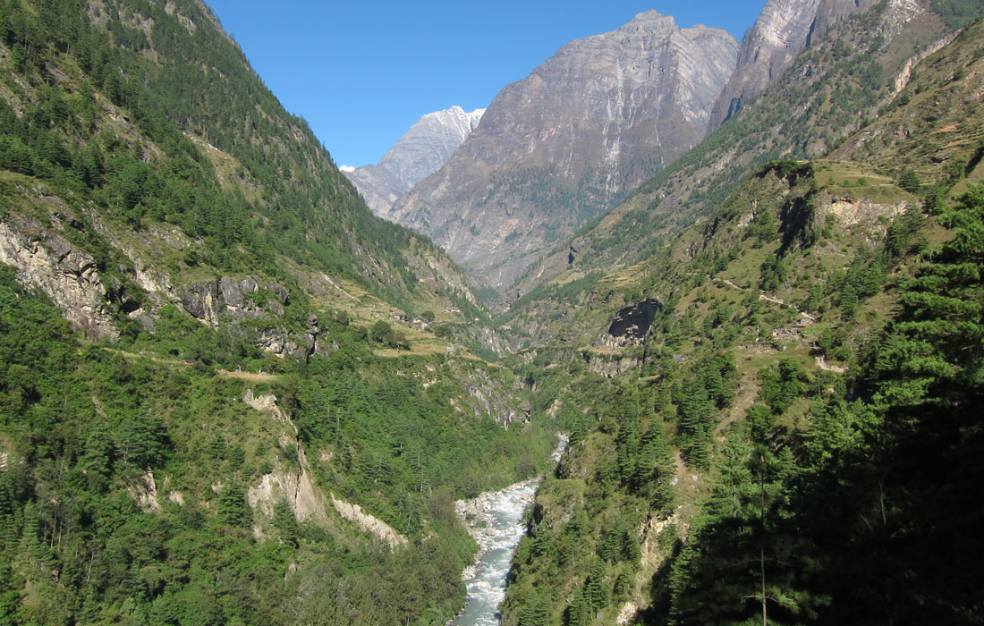 Budi Gandaki River