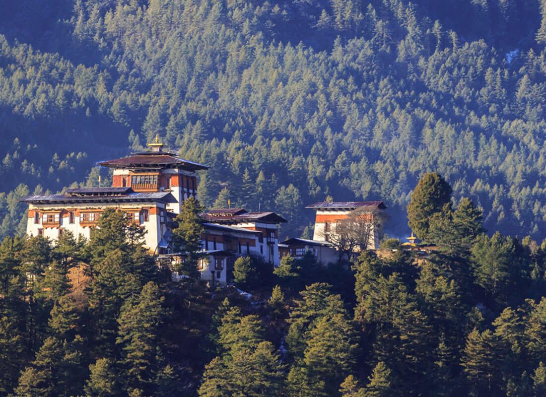 Bumthang - Jakar Dzong