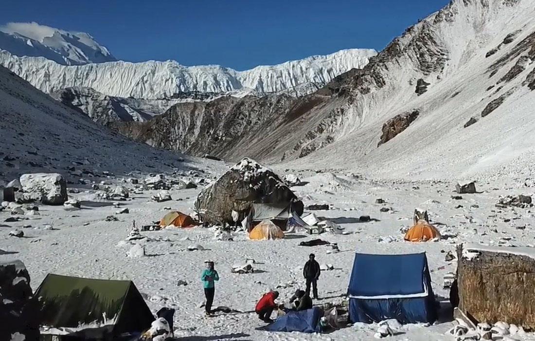 Chulu West Base Camp