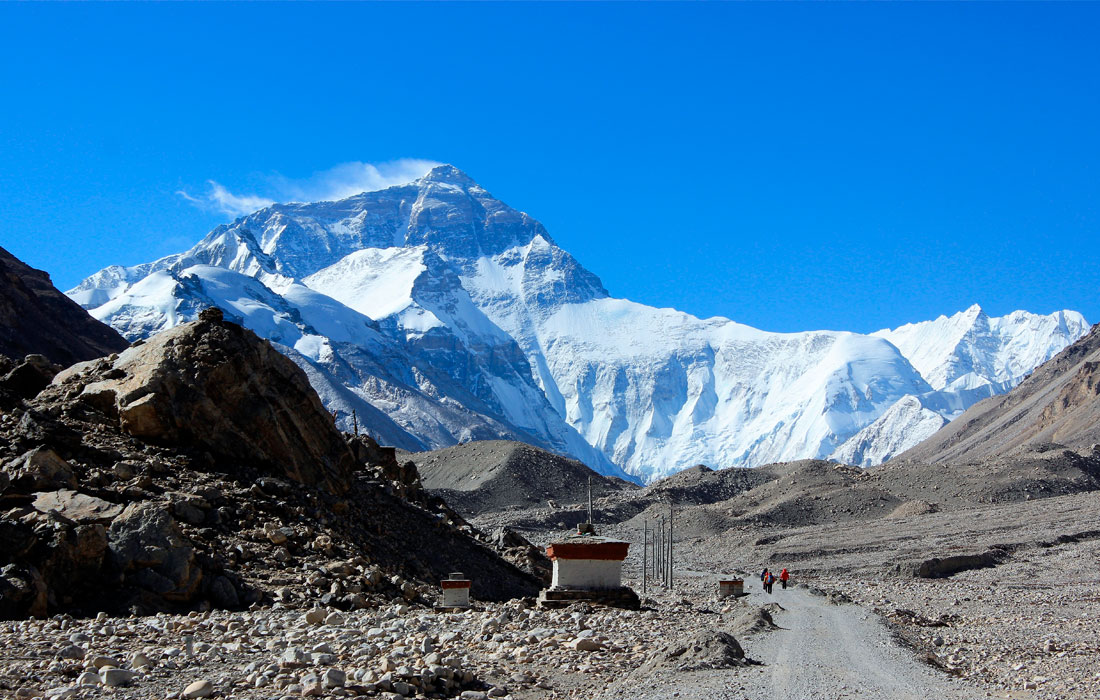 Everest Base Camp from Tibet