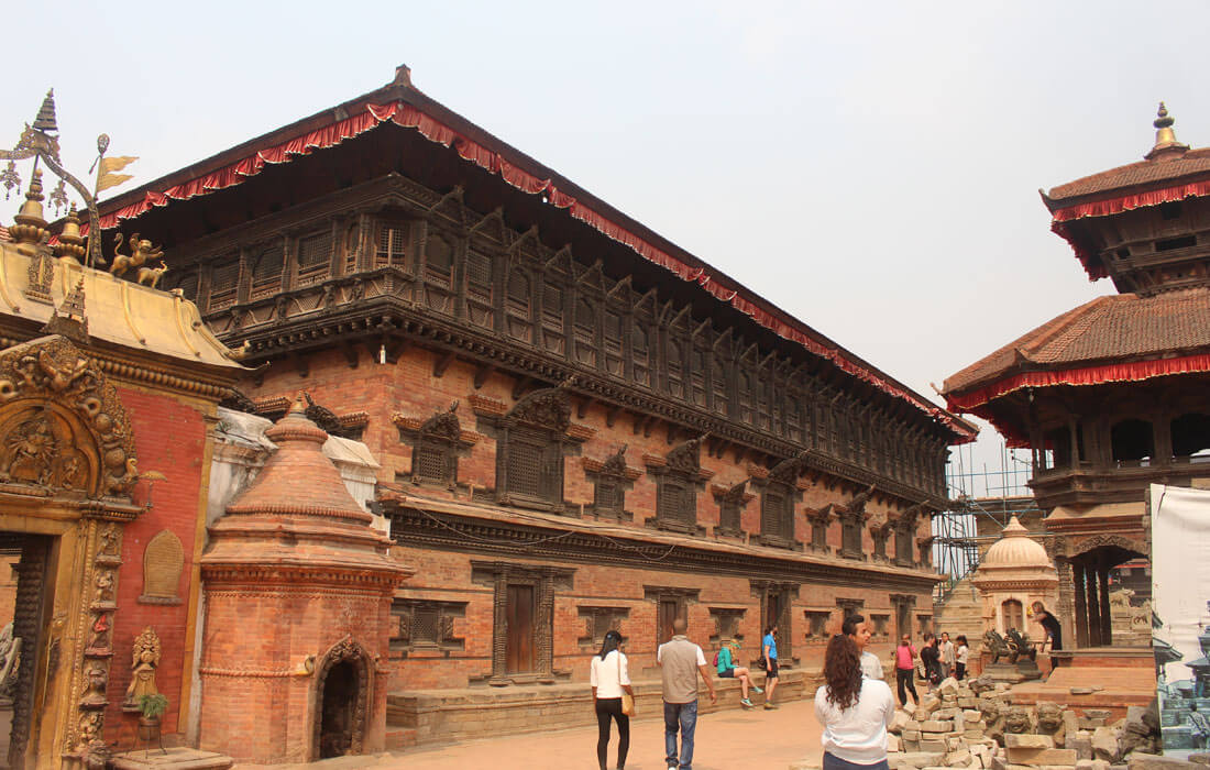 Golden gate and Bhaktapur Durbar Square