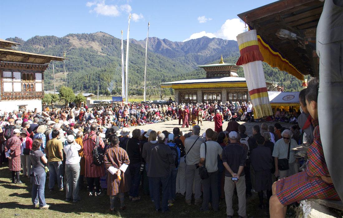 Jambay Lhakhang Drup Festival