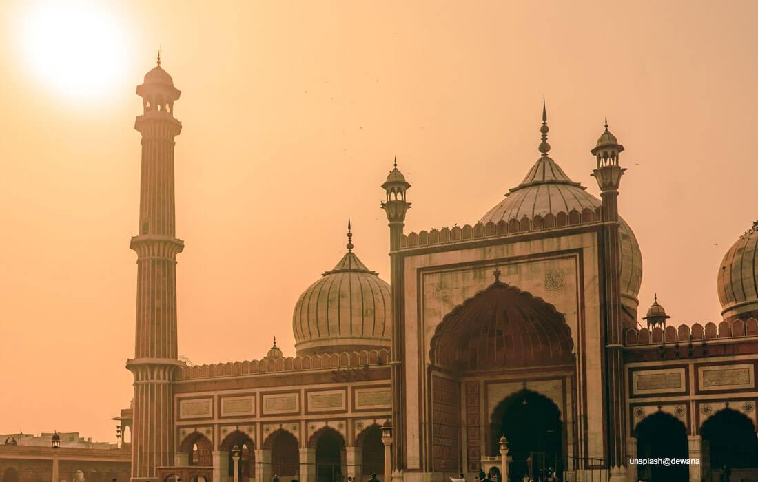 jame masjid new delhi