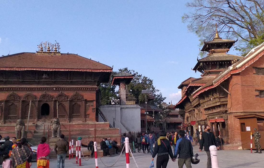 Kathmandu Durbar Square (basantapur)