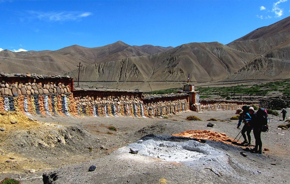 Longest Mani wall at Ghami