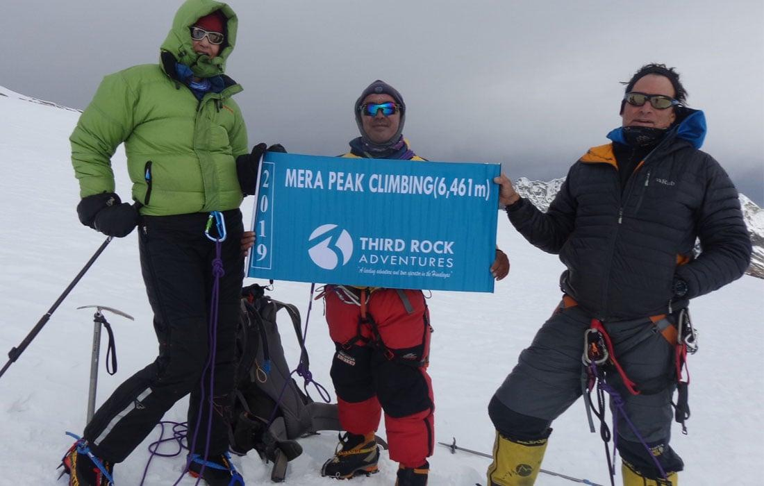 Mera Peak Summit Day