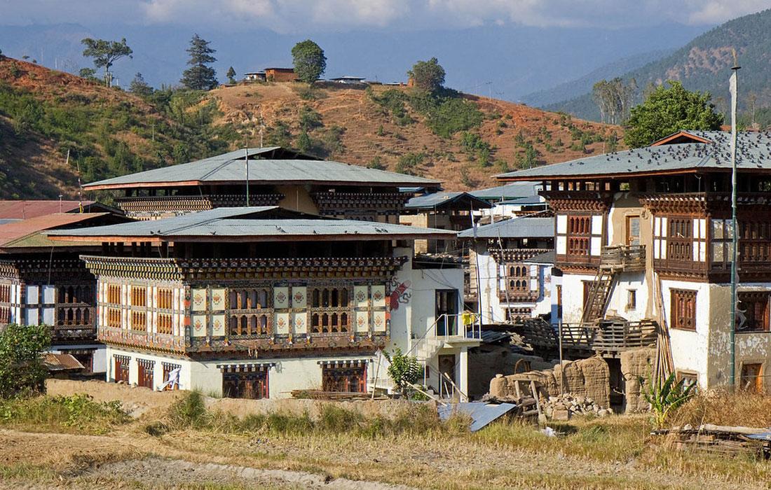 Metshina Village Bhutan