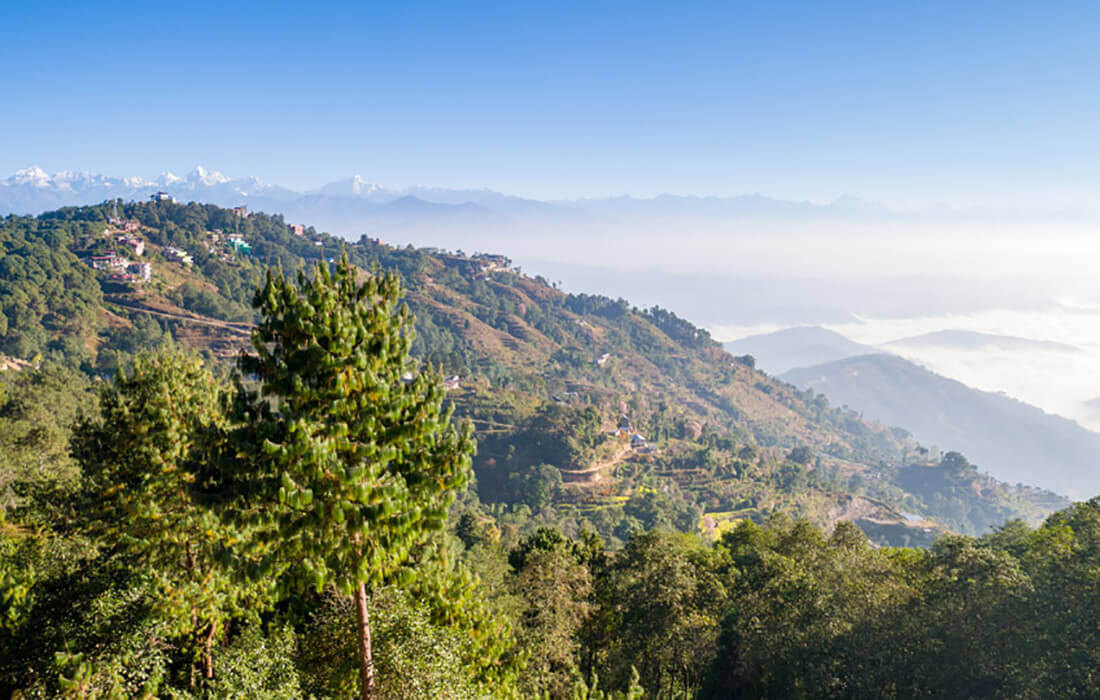 Hike from Nagarkot