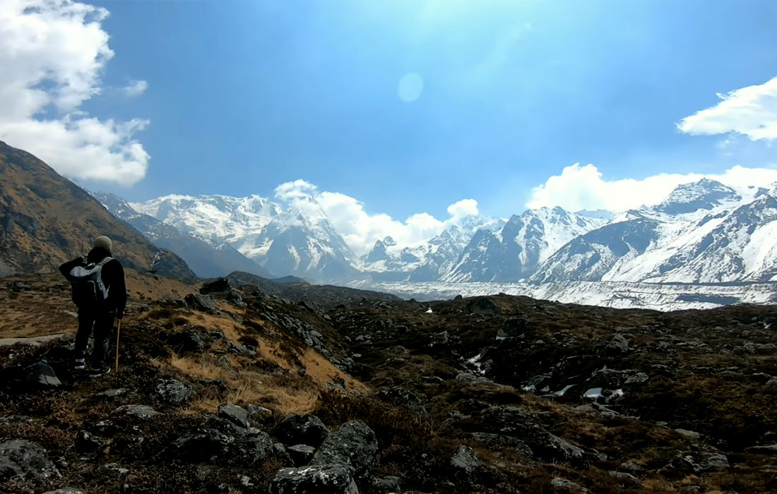 On the way to Ramche