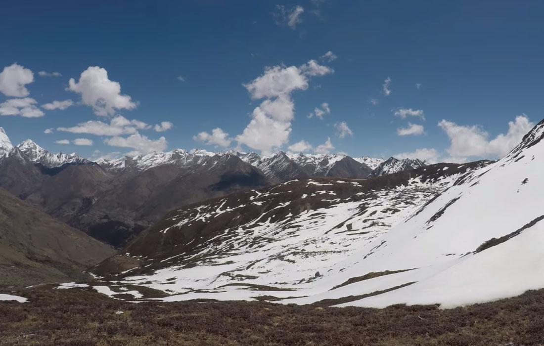 Shinge La Pass