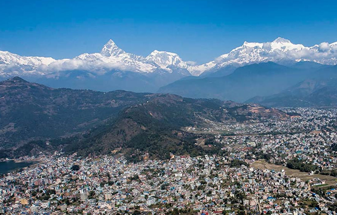 Sightseeing in Pokhara