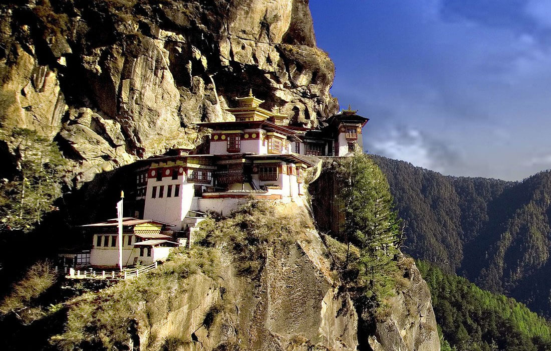 Taksang Monastery Bhutan - Sacred Buddhist site located in Paro and constructed in 1692