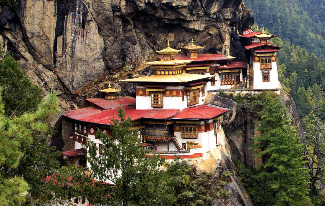Paro Taktsang also called tigernest or taktsang monastery