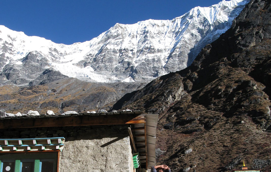 View from Na village