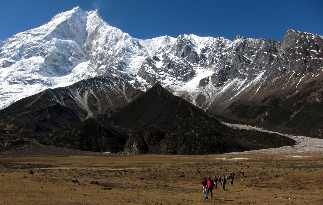 Experience cultural and scenic diversity around Manaslu, the 8th highest peak in the world