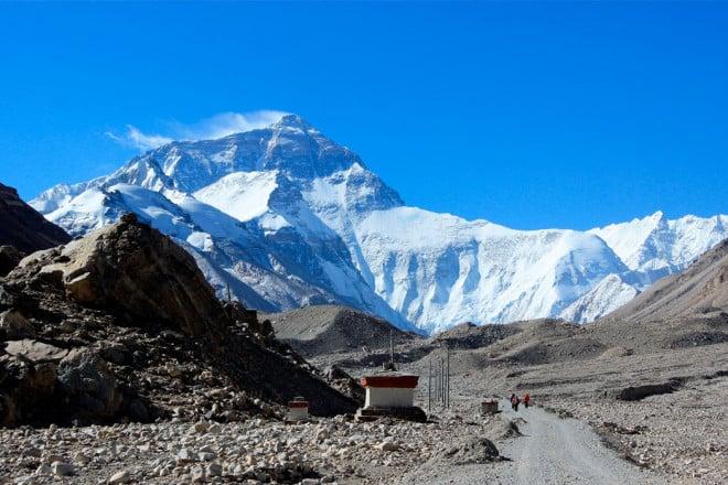 Everest Base Camp Tibet Side