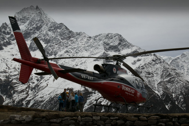 Everest Base Camp Gokyo Lakes Helicopter Trek