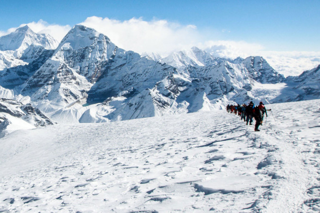 Mera Peak Climbing and Amphu Lapcha Pass