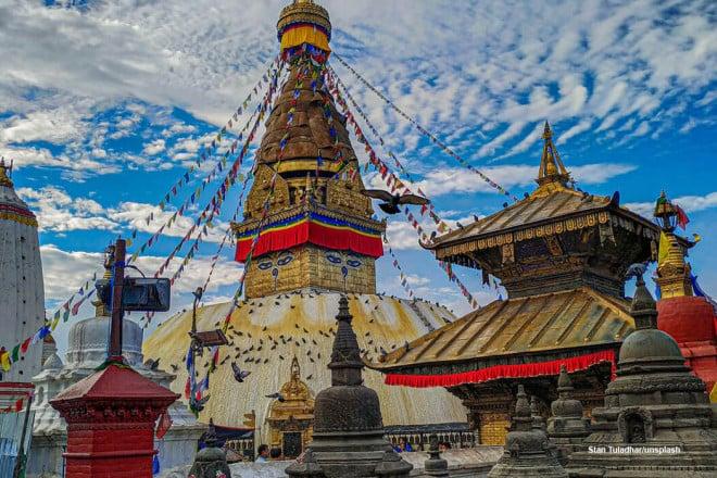 Swayambhunath Stupa, Kathmandu