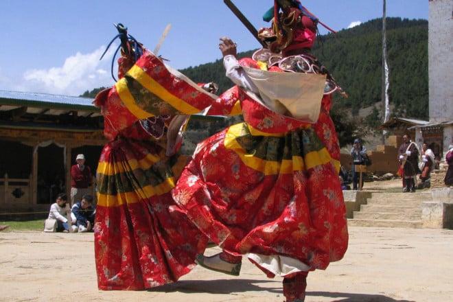 Ura Yakchoe Festival in Bhutan