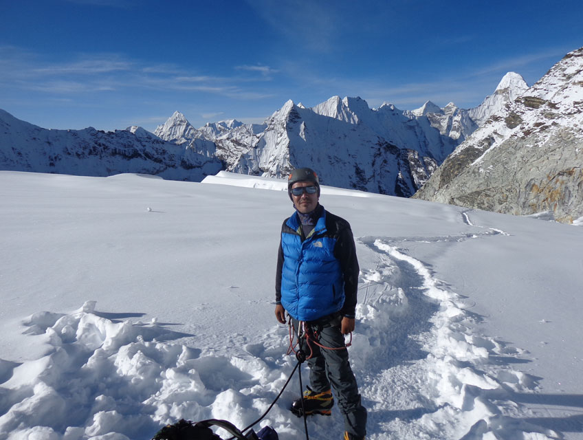 Guidance of an Experienced Mountaineer