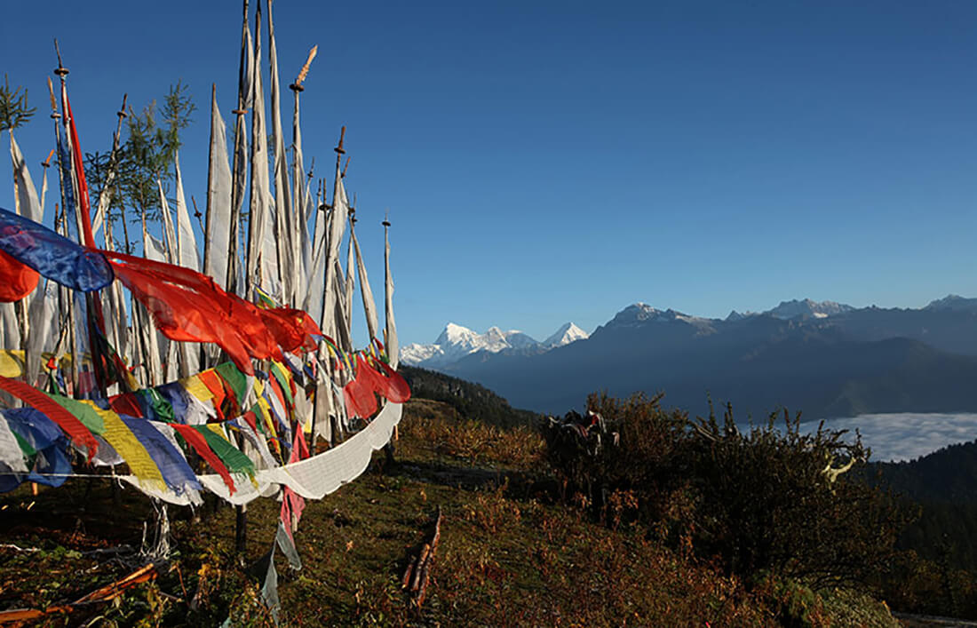 Higer Unclimbed mountain in Bhutan