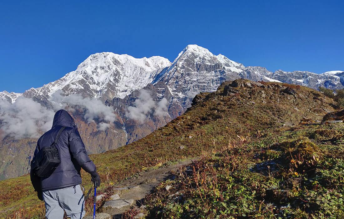 Mardi Himal Trek Route